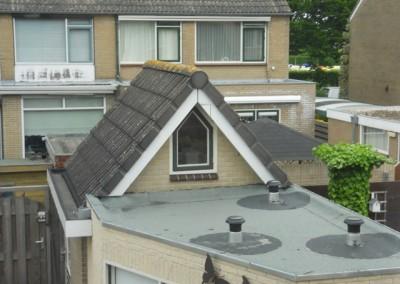Thuis - uitbouw dak op schuur